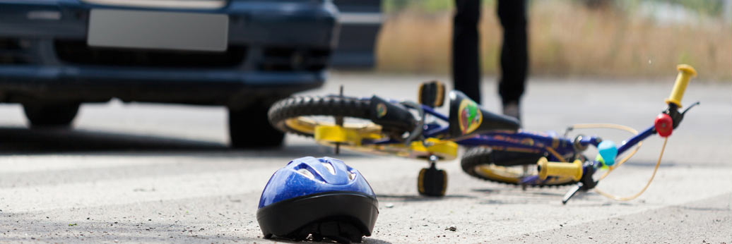 bicycle accident causing personal injury